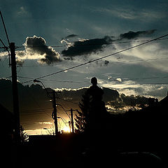 "photo ""Cityscape silhouettes"""