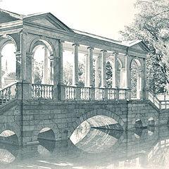 """photo """"The Marble Bridge"""""""