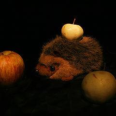 """фото """"Да не ем я этих яблок..."""""""