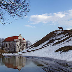 """photo """"Spring in Novogrudok"""""""