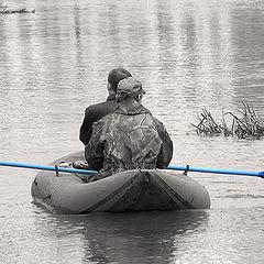 "photo ""We carry away oars!!!"""