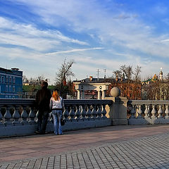 "photo ""My love and Moscow"""