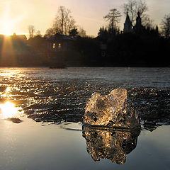 "фото ""Весенний закат"""