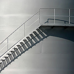 """photo """"Stairs,Light and Shadows"""""""