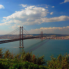 "photo ""Bridge to Lisbon"""