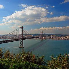 """photo """"Bridge to Lisbon"""""""
