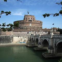 """photo """"Castle SantAgelo (Rome)"""""""