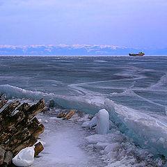 """photo """"April. Baikal."""""""