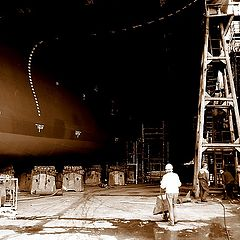"""фото """"In the dry dock"""""""