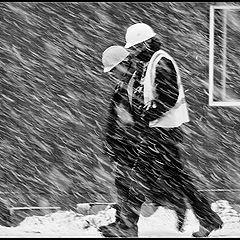 "фото ""Когда весна не спешит"""
