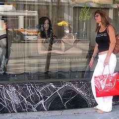 """photo """""""" Shop til you drop '."""""""