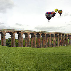 "фото ""Balcombe Viaduct - Sussex - England"""