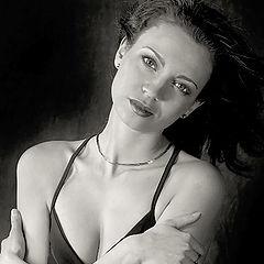 "фото ""Black'n'White portrait"""