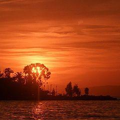 "photo ""Sunset Bay of Izmir"""