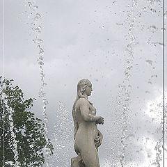 """фото """"Холодные брызги Петродворца"""""""