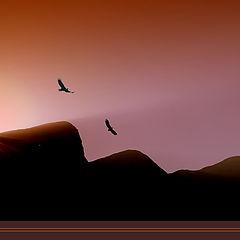 """photo """"the eye of mountain"""""""