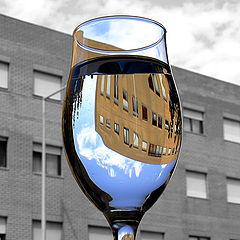 """фото """"Inside the glass"""""""