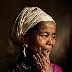 """фото """"Reang Tribal Woman Portrait #2"""""""