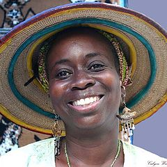 """photo """""""" West African Smile """"."""""""