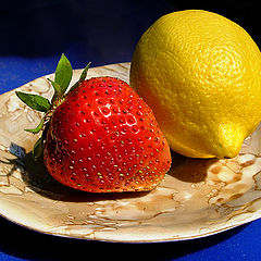 "photo ""Lemon and strawberry"""