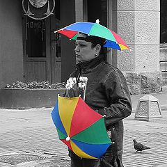 """photo """"The person of a rain"""""""