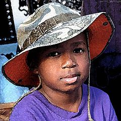 """photo """""""" Child of West Africa """"."""""""