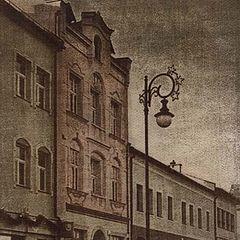 "фото ""my town in gum dichromate"""