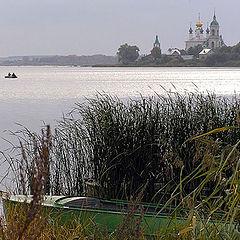 "photo ""Beauty of Russian ground. Rostov. Lake Nero."""