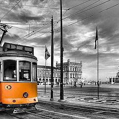 "фото ""На жёлтом трамвае - Лиссабон"""