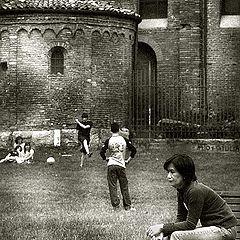 """фото """"Футбол в Милане # 2"""""""