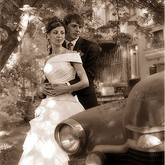 """photo """"Old wedding picture"""""""