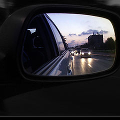"photo ""The World Through a Rearview Mirror"""