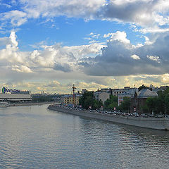 """photo """"Moscow -river"""""""