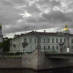 "photo ""Petersburg. St. Nikolay church"""