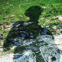 """фото """"shadow on one breakwater"""""""