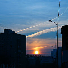 """photo """"Moscow. Morning"""""""