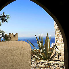 "фото ""Mediterranean blue"""