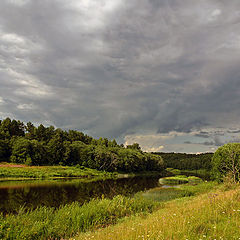 "photo ""The thunder-storm comes nearer"""