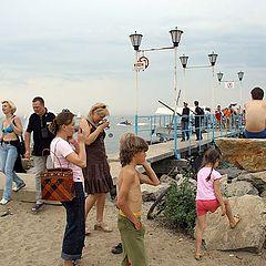 """фото """"Standing на пляже"""""""