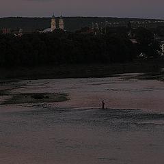 """фото """"Река Уж. Вечерняя рыбалка."""""""