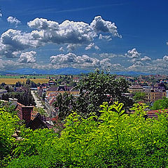 "photo ""Panorama of ancient city"""