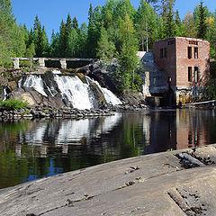 "photo ""Karelia. Rumakoski waterfall"""