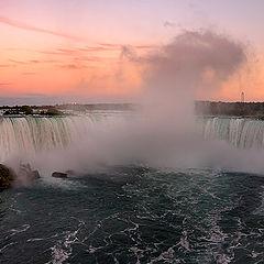 """photo """"Moon over Niagara Falls"""""""