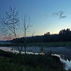 """photo """"Blue evening"""""""