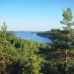 """photo """"Karelia. Kirjavalahti Bay"""""""