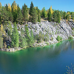 "photo ""Karelia. Ruskeala's marble opened mine #2"""