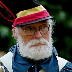 "photo ""old Belgian soldier 1830"""