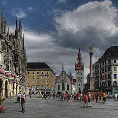 """photo """"Marienplatz"""""""