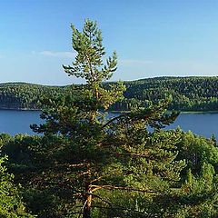 """photo """"Karelia. Kirjavalahti Bay's panorama"""""""