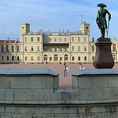 """photo """"Gatchina. The Panorama of Palace"""""""